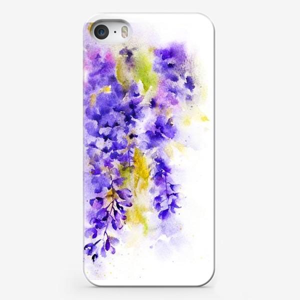 Чехол iPhone «Глициния великолепная»