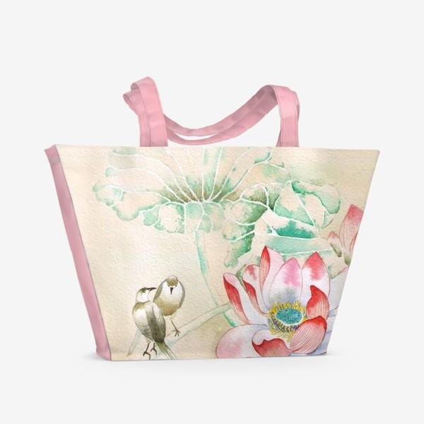 Пляжная сумка «у пруда»