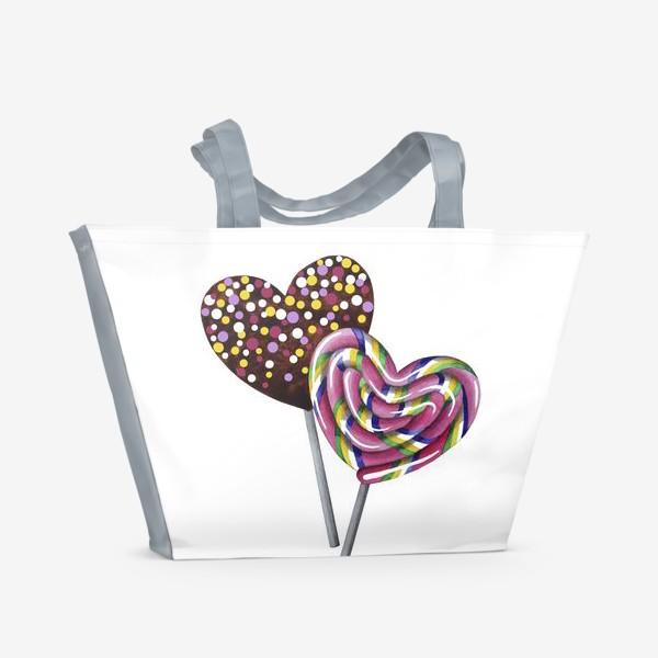 Пляжная сумка «Леденцы»