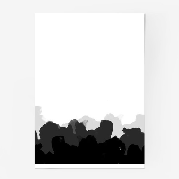 Постер «Акварельные фантазии»