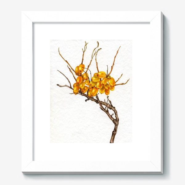 Картина «Осенние ягоды»