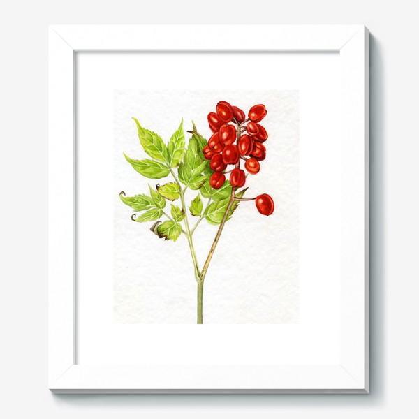 Картина «Красные ягоды»