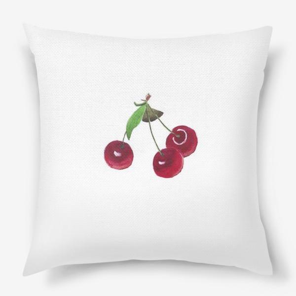 Подушка «вишенки»