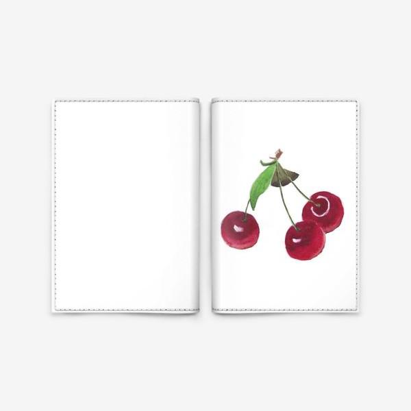 Обложка для паспорта «вишенки»