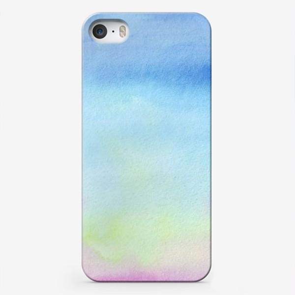 Чехол iPhone «акварельное небо 2»