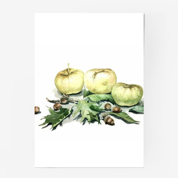 Постер «Яблоки»