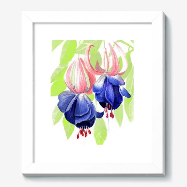 Картина «Комнатные цветы»