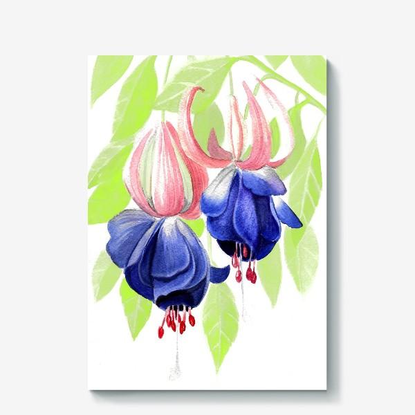 Холст «Комнатные цветы»