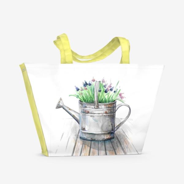 Пляжная сумка «Старая лейка»