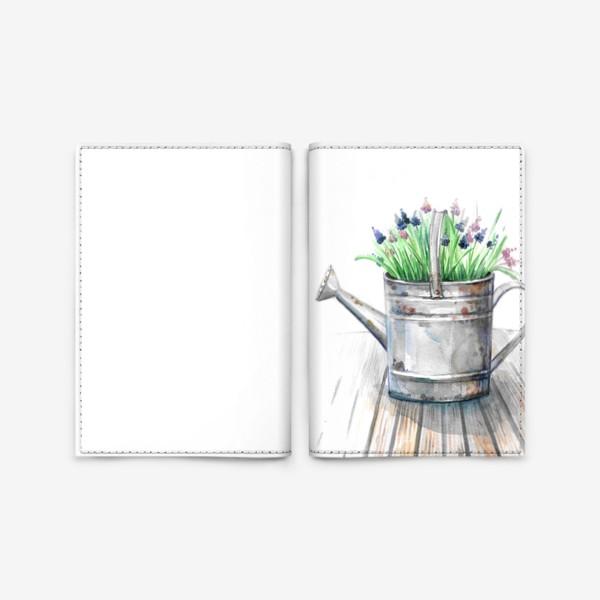 Обложка для паспорта «Старая лейка»