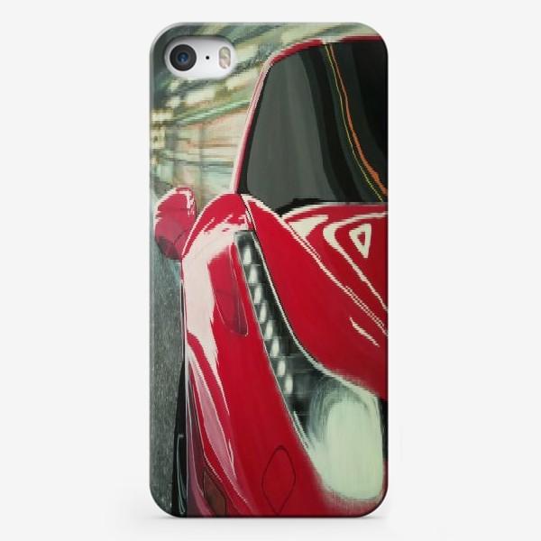 Чехол iPhone «Ferrari 458.»