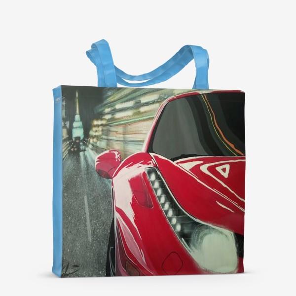 Сумка-шоппер «Ferrari 458.»