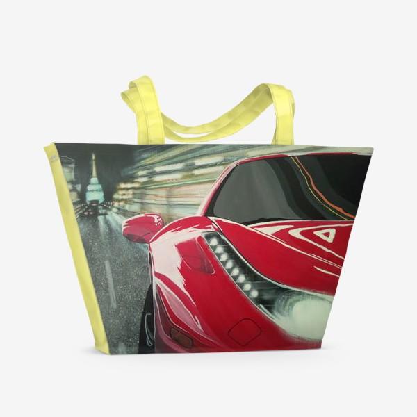 Пляжная сумка «Ferrari 458.»