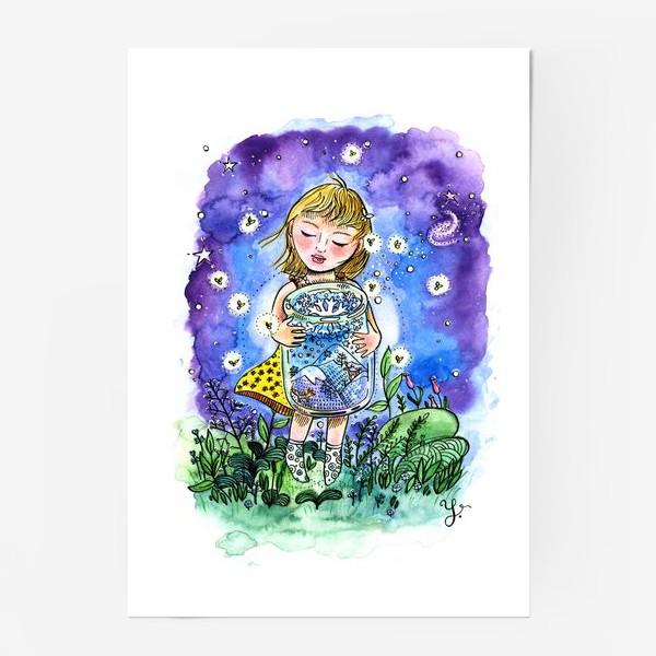 Постер «Девочка и зима в банке»
