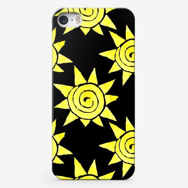 Чехол iPhone «Sun Pattern»