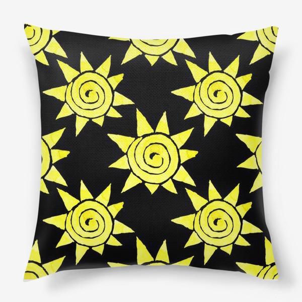 Подушка «Sun Pattern»
