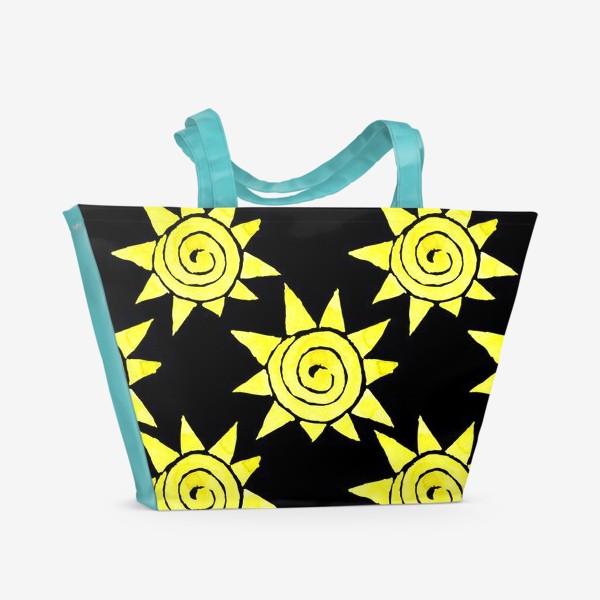 Пляжная сумка «Sun Pattern»