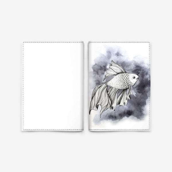 Обложка для паспорта «Рыбка»