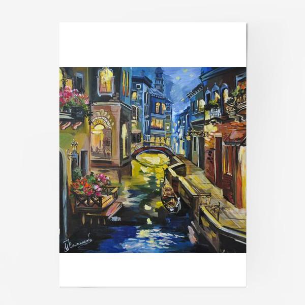 Постер «венеция»