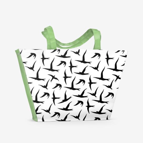 Пляжная сумка «Ласточки»