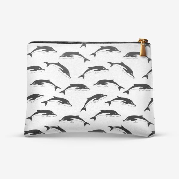 Косметичка «Дельфины»