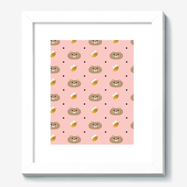Картина «Мишки и пчёлы»