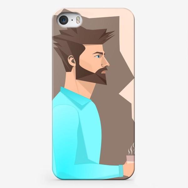 Чехол iPhone «Кофеман»