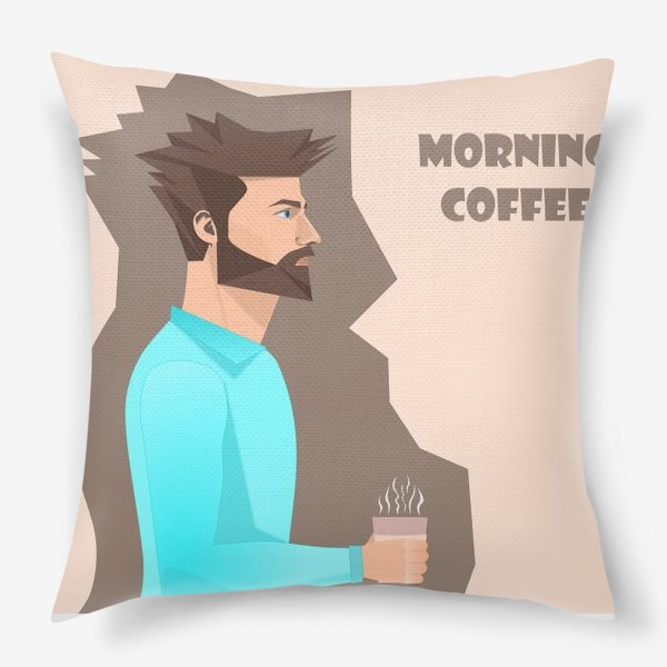 Подушка «Кофеман»