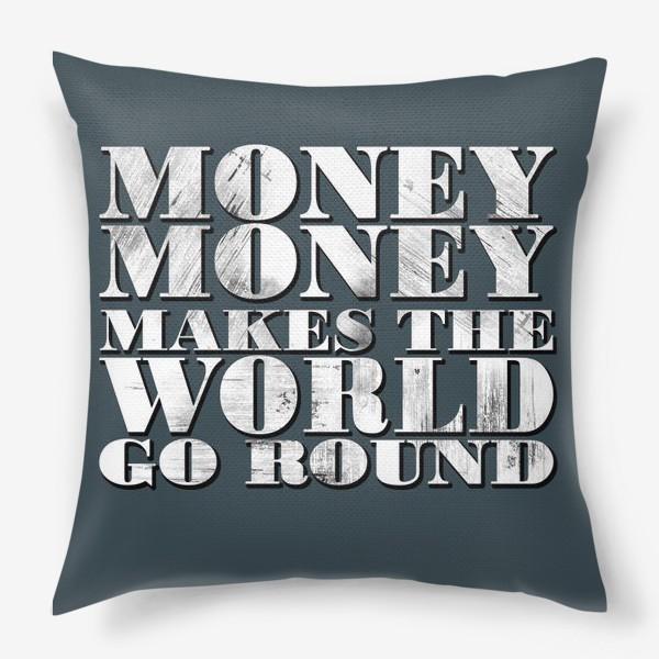 Подушка «money»