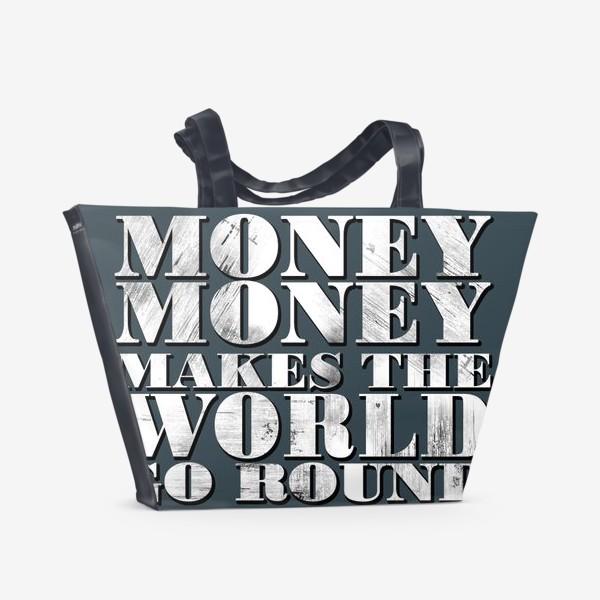 Пляжная сумка «money»