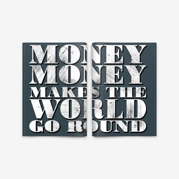 Обложка для паспорта «money»