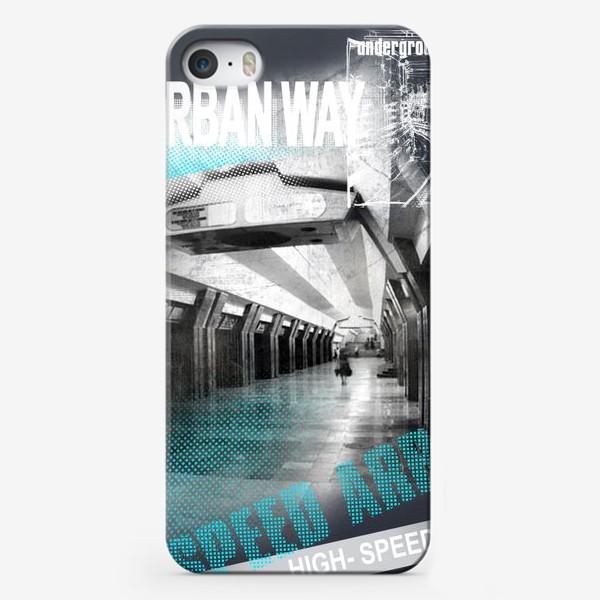 Чехол iPhone «train»