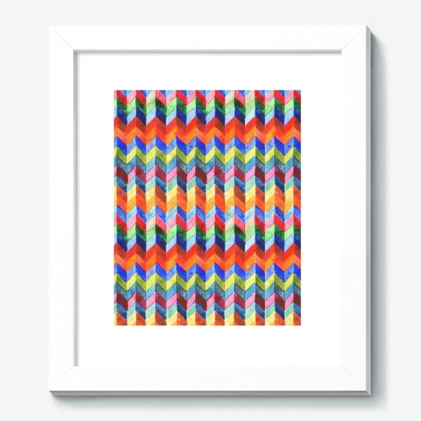 Картина «Цветной зигзаг»