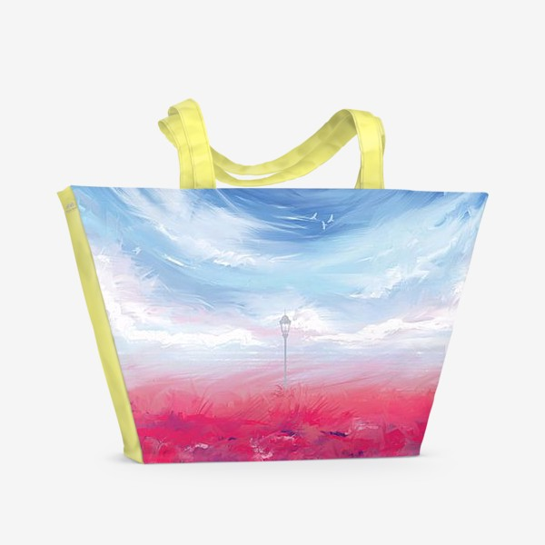 Пляжная сумка « Одиночество»