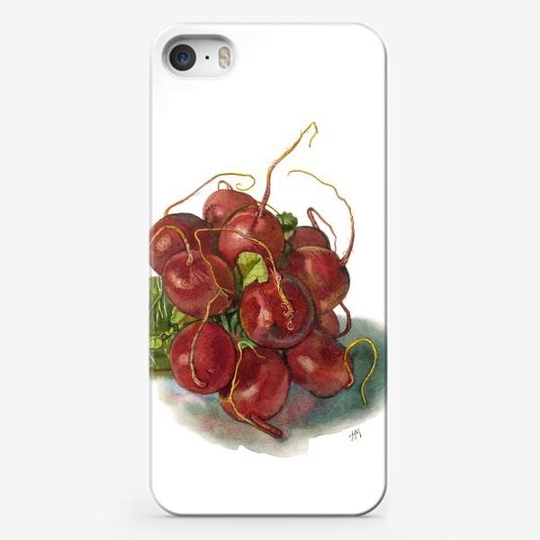 Чехол iPhone «Букет редиса.»