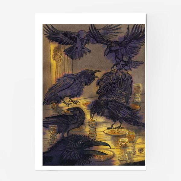 Постер «Семь воронов.»