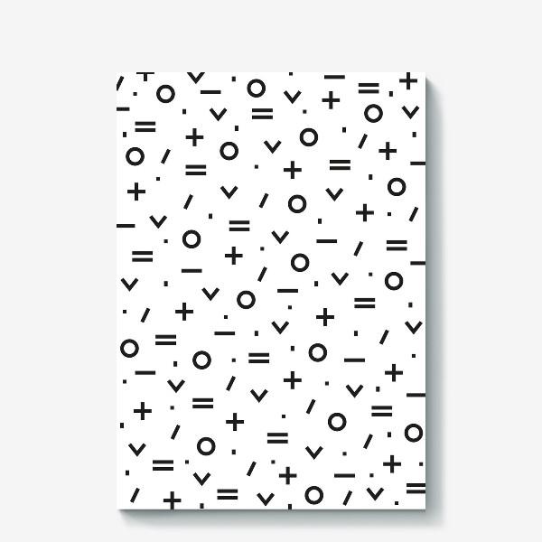 Холст « Geometric pattern»