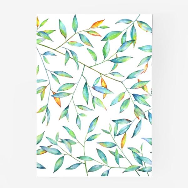 Постер «Весенняя листва»