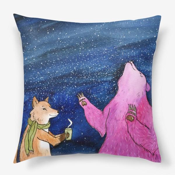 Подушка «Ночной разговор»
