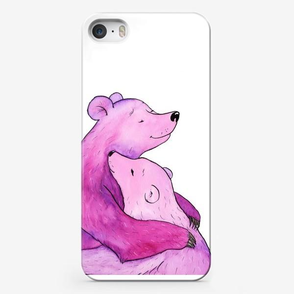 Чехол iPhone «Обнимаю»
