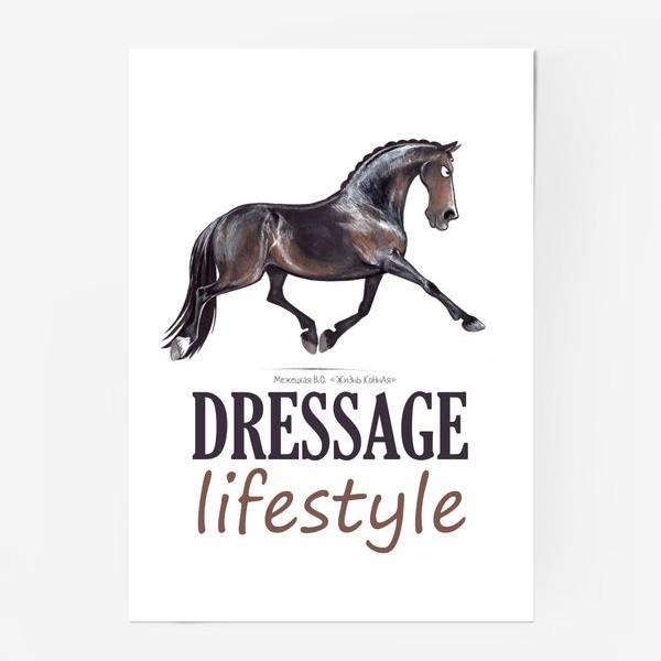Постер «DRESSAGE LIFESTYLE. ВЫЕЗДКА»