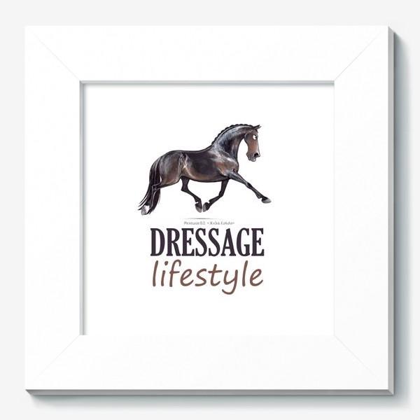 Картина «DRESSAGE LIFESTYLE. ВЫЕЗДКА»
