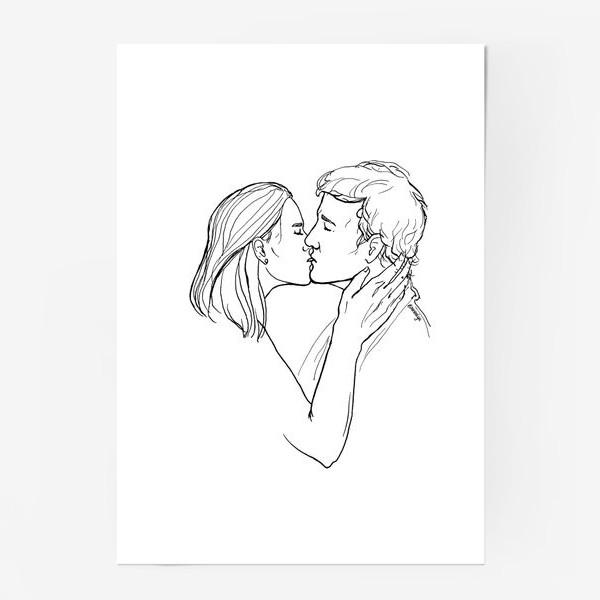 Постер «Целую»