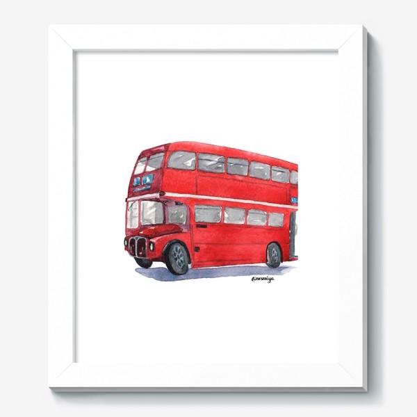 Картина «Лондонский автобус»