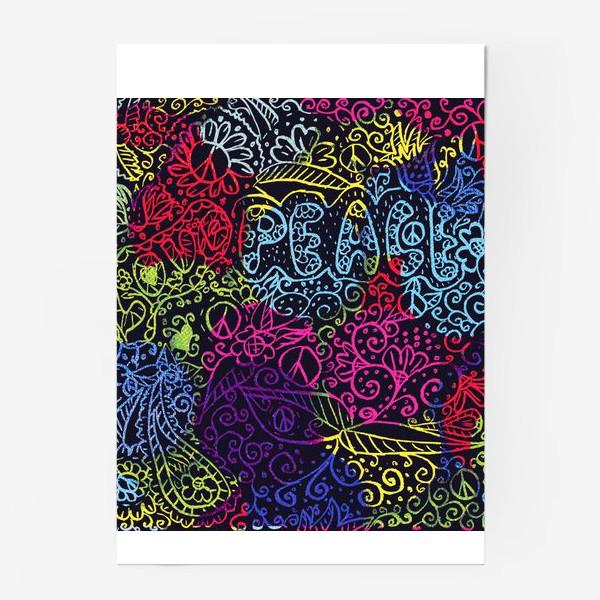 Постер «Love & peace»