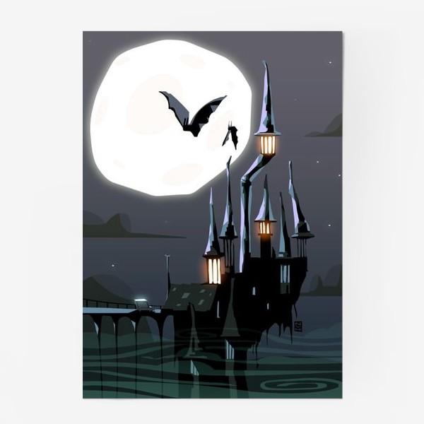 Постер «Замок Дракулы»