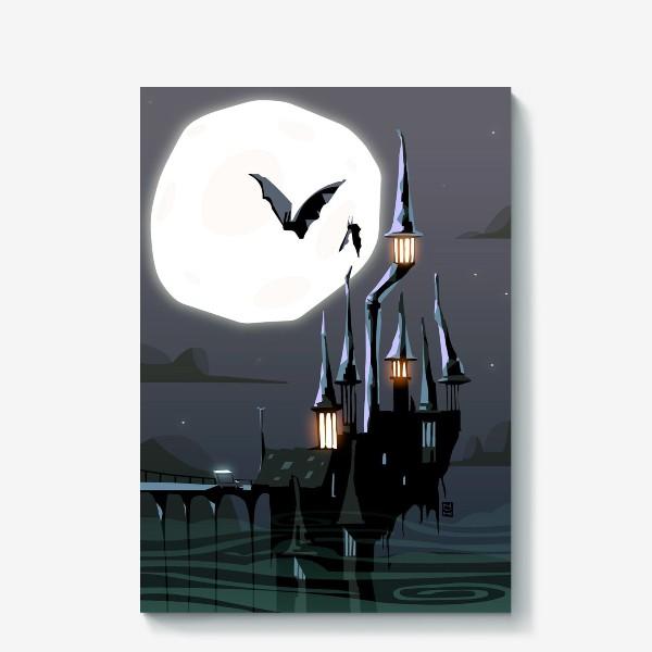 Холст «Замок Дракулы»