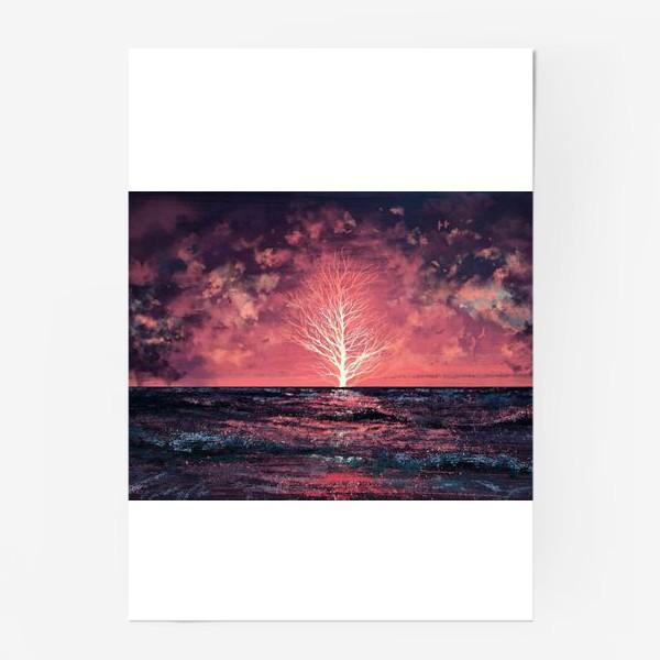 Постер «Где-то в океане»