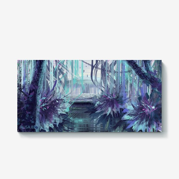 Холст «Синие сны»