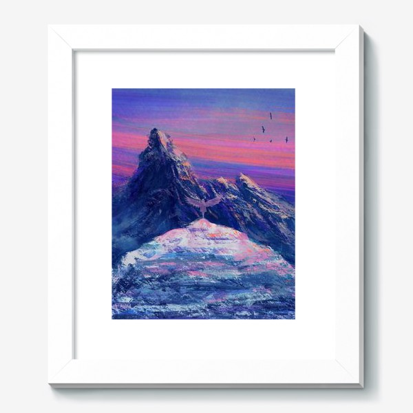 Картина «На краю обрыва»